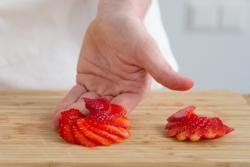 Obst und gem se schnitzen mit videoanleitung - Gemuse dekoration schnitzen ...