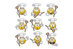 Kochschule Comic