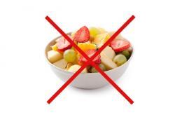 Najboljši recepti za jedi brez fruktoze