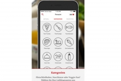 App Screenshot Kategorien