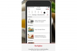 App Screenshot Kochplan