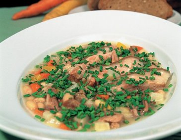 Bauernschnatterer (Bean and Pork Stew)