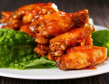 Chicken Wings mit Ahornsirup