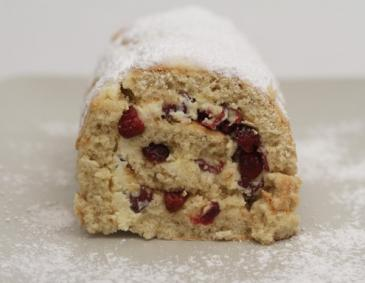 Cranberry-Roulade