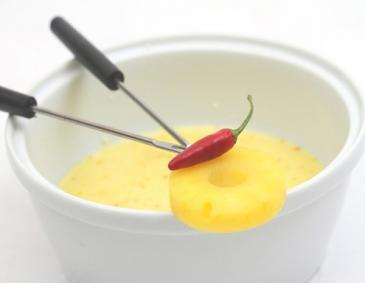 Curry-Fondue
