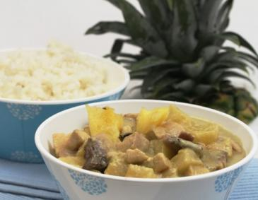 Hawaiianisches Fischcurry