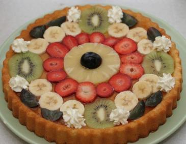 Einfacher Obstkuchen Boden Backen Macht Glucklich