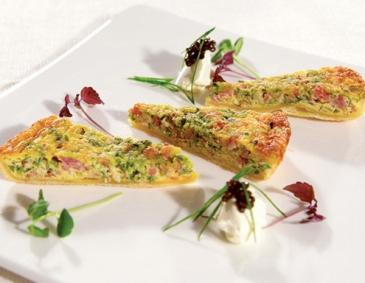 "onion quiche ""Sacher Eck"""