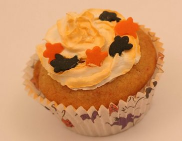 Orange Halloween Muffins