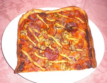 Pizza Rustika