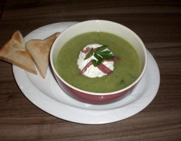 Petersiliencremesuppe