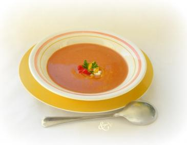 Paprika-Suppe