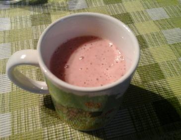 Himbeer-Hirse-Smoothie