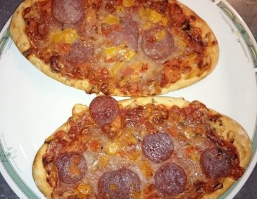 Mini-Pizzen