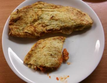 Pizza Calzone ohne Mehl
