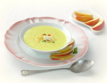 Curry-Obers-Suppe