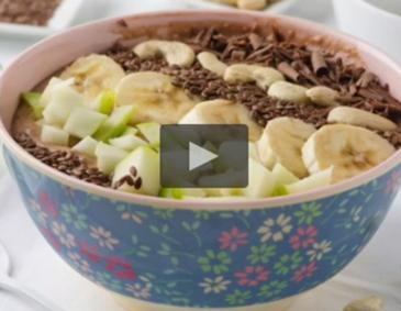 Video - Nussige Smoothie Bowl