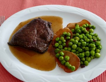Lamm Hüftsteak mariniert