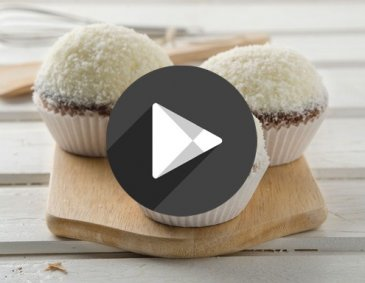 Video - Raffaello Cupcakes