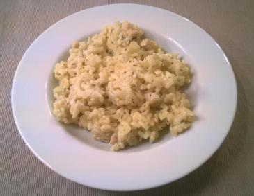 Hühner-Rahm-Risotto á la Harry
