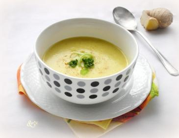 Curry-Cremesuppe