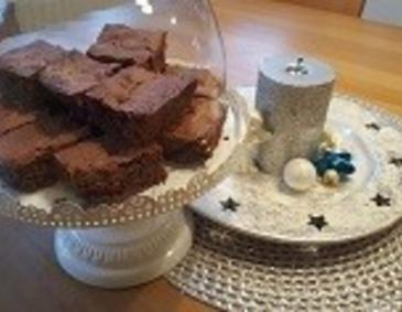 Advent-Brownies