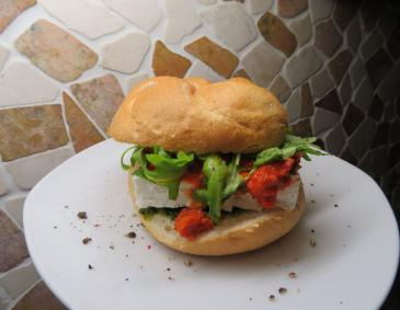 Mediterraner Snackburger