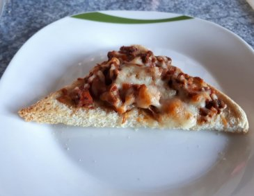 Toast Bolognese