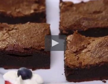 Video - 2-Zutaten-Nutella-Brownies