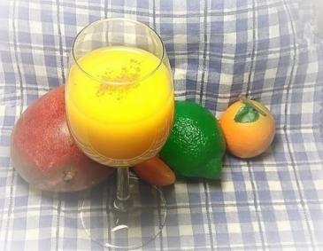 Mango-Chili Detox-Drink