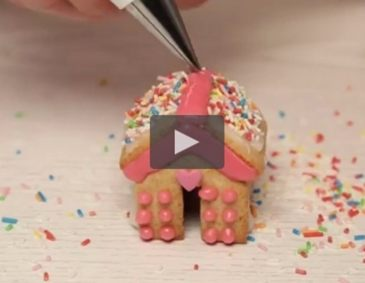 Video - Mini-Lebkuchenhaus