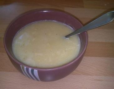 Spargelsuppe