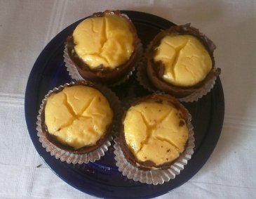 Brownie-Cheescake-Muffins