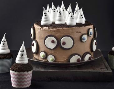 Halloween-Gespenstertorte