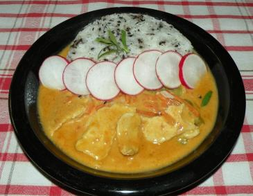 Mildes Chicken-Kokos Curry