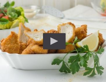 Video - Chicken Nuggets aus der Heißluftfritteuse