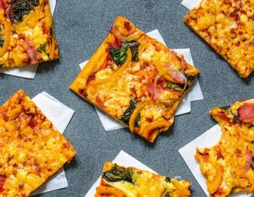 Blitz-Pizza aus dem Thermomix