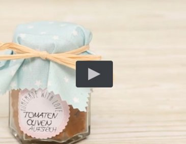 Video - Tomaten-Oliven-Aufstrich