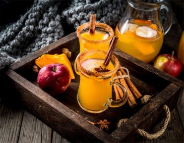 Pumpkin Spice Hot Cider