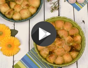 Video - Monkey Bread mit Pesto