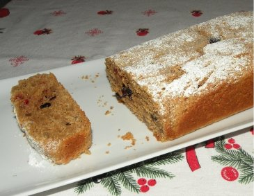 Vollkorn-Christstollen