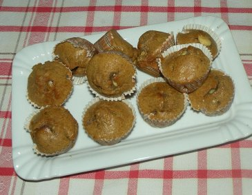 Zuckerarme Minimuffins