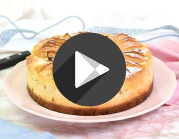 Video - Apfelspiralen-Cheesecake