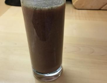 Erdbeer-Spinat-Smoothie
