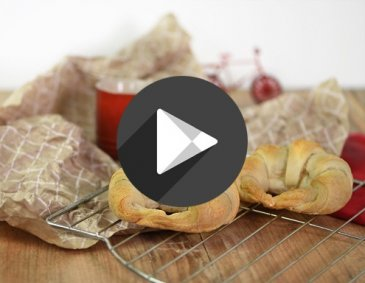 Video - Blätterteig-Croissants