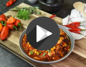 Video - Einfaches Chili con carne