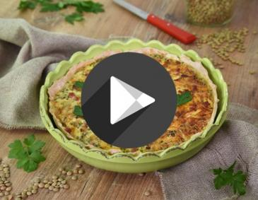 Video - Linsen-Quiche