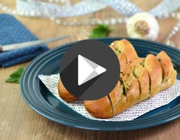 Video - Knoblauchbaguette