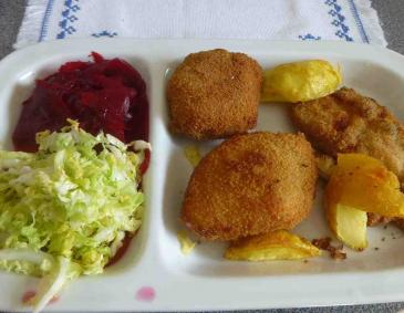 Lungenbratenschnitzerl