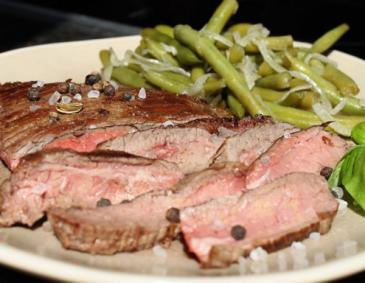 Gegrilltes Flank Steak